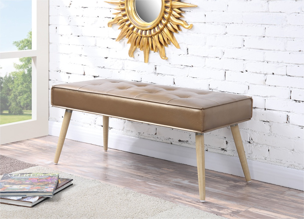 Exude the retro cool of Palm Springs with the Amity Collection by Avenue Six. Classic mid-century style with a modern flare.