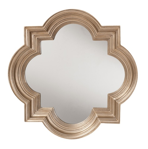 Wall mirrors are the perfect addition to a darker room. Not only do they add style and elegance, they also help redirect light around the room to brighten up the space.