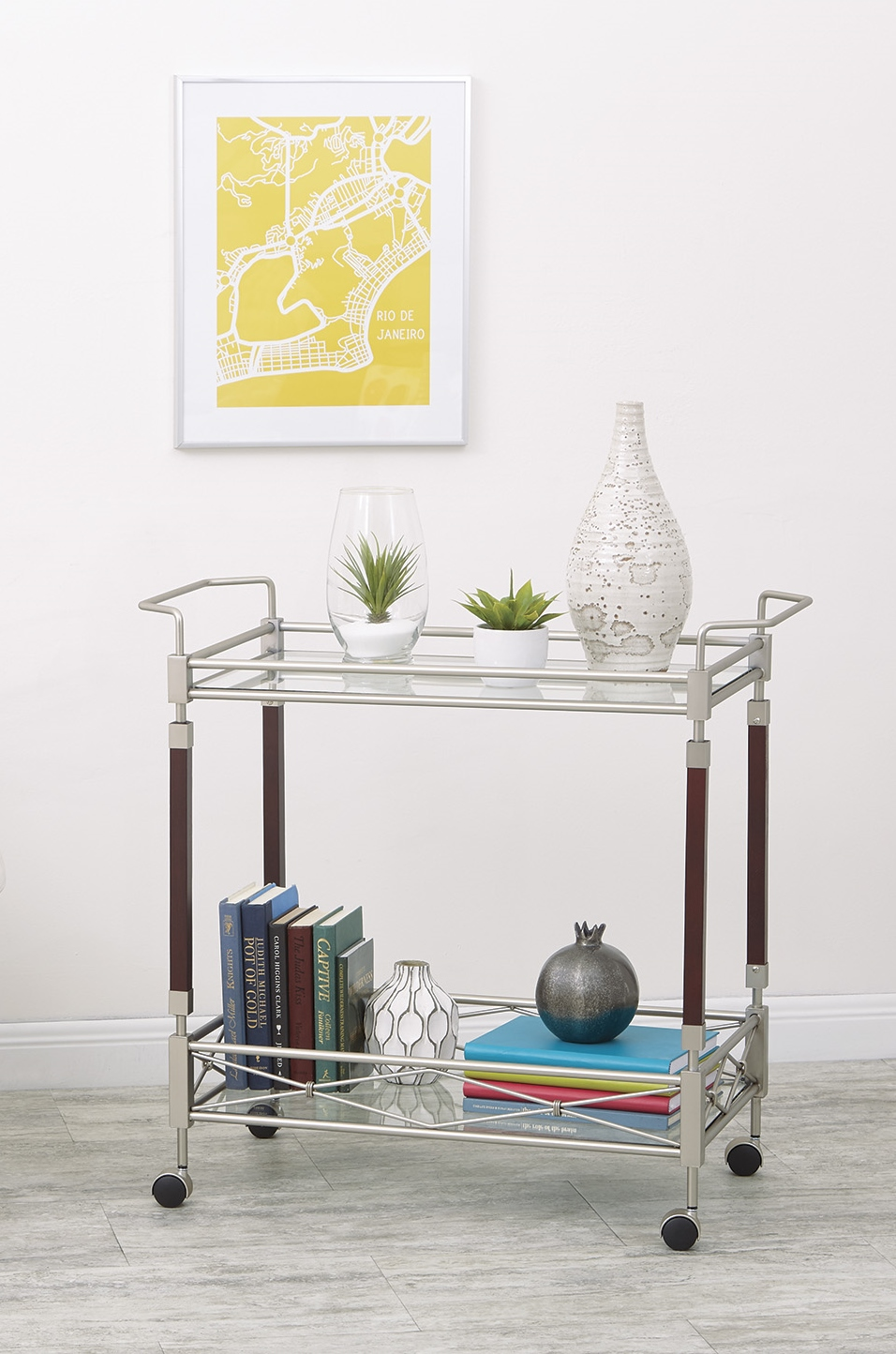 5 Ways to Style the Perfect Bar Cart