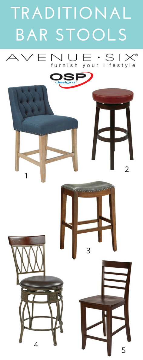 Affordable bar stools for the kitchen. @officestarprod