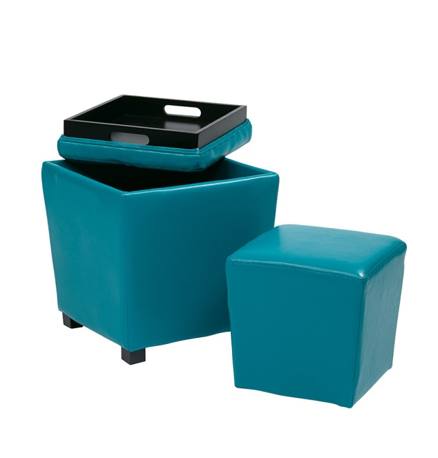 What You Need to Know Before Moving Into Your First Dorm Room: Add Storage & Seating with an Ottoman