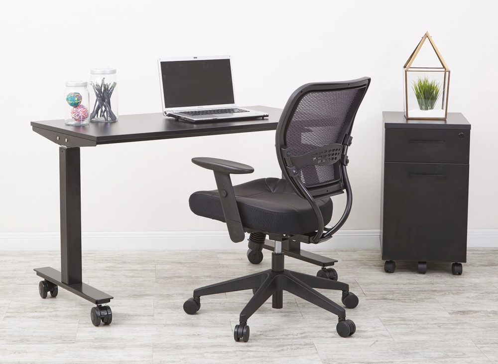 Ready to create a focus zone in your office? Start with the basics. Having a good desk and office chair is the foundation of any focus space.