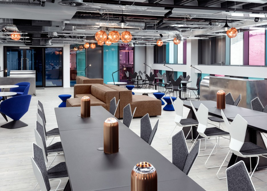 The Rise of Coworking: The new Interchange - Atrium in London offers a high-end, futuristic feel for cutting edge businesses.