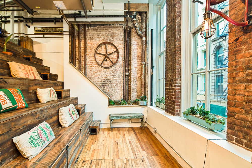 The Rise of Coworking - The rustic charm of The Farm SoHo makes it an ideal place for creatives to meet and share ideas in NYC.