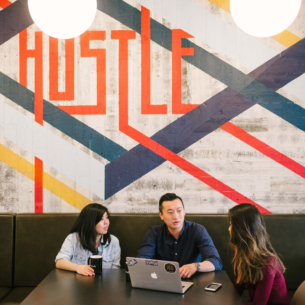 The Rise of Coworking - A look inside HSBC's new office space at WeWork, Tower 535, Hong Kong.