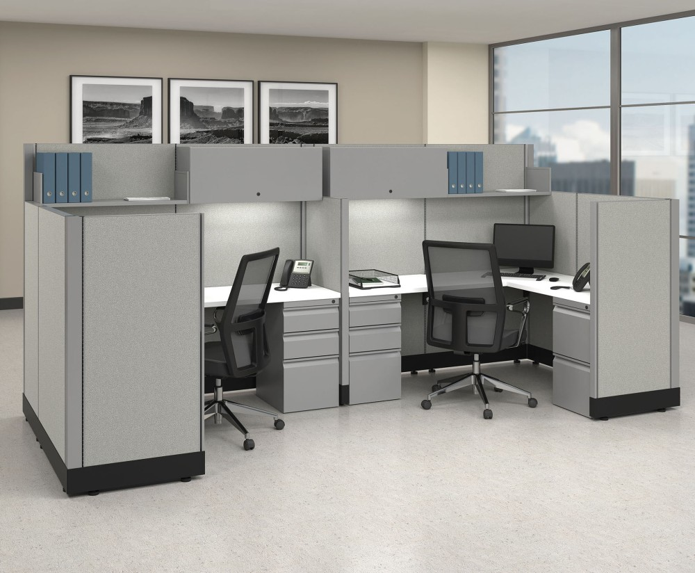 open office cubicles. The Humble Cubicle May Be Out Of Fashion, But Still Offers Value In Modern Office Open Cubicles F